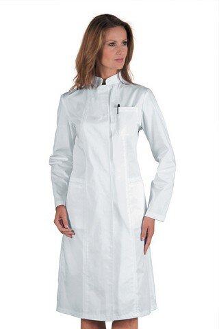 Camice per Le Adatto per Studente Laboratorio Infermiera Cosplay Abito di Coton Camicia Bianca delluomo Icertag Camice Bianco da Laboratorio Donna Uomo Unisex Medico Cappotto