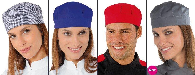 BOB - Cappelli cuoco taglia unica - Camici e Divise Professionali da ... a046e67434b4